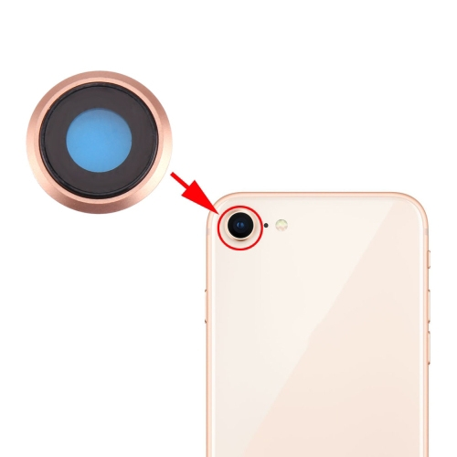 BACK CAMERA LENS iPhone 8 (Gold)