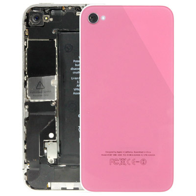 Back cover Apple iPhone 4 pink high copy