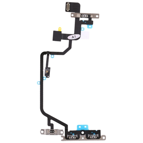 Flashlight & Power Button & Volume Button Flex Cable for iPhone XR